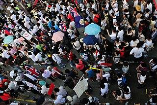 Hong Kong 1 July marches Hong Kong marches on 1 July