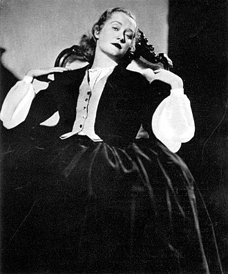 Miriam Hopkins - Miriam Hopkins in the Broadway production of Jezebel (1933), an Owen Davis play later adapted for a 1938 film starring Bette Davis