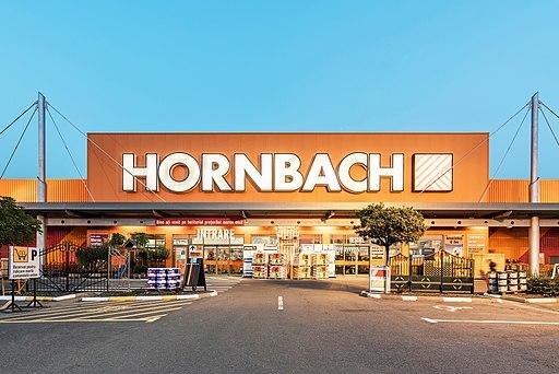 Eine Hornbach-Filiale