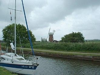 Horsey, Norfolk - Horsey windpump