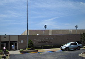 Hot Springs High School (Arkansas) - Image: Hot springs high school kmf