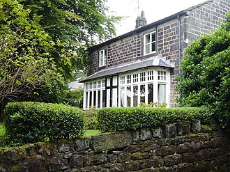 John Cockcroft - House in Walsden where John Cockcroft lived from the age of two until he was 28 years old