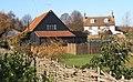 Houses beside B1113, Badley, just outside Needham Market - geograph.org.uk - 614134.jpg