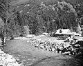 Houses on Stetattle Creek, 1954 (50679104133).jpg