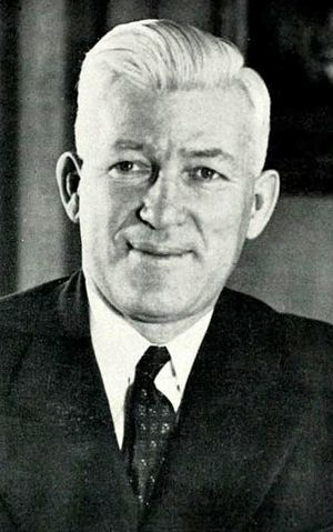 Howard S. McDonald - McDonald pictured in The Banyan 1946, BYU yearbook