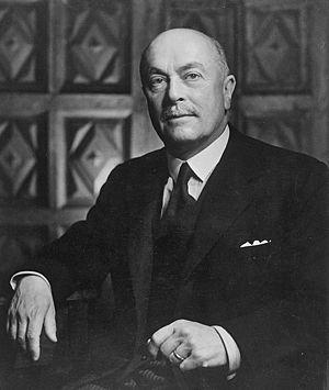 Hubert Pierlot - Pierlot, pictured in 1943