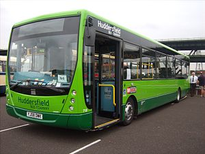 Yorkshire Tiger - Plaxton Centro bodied VDL SB200 in September 2008