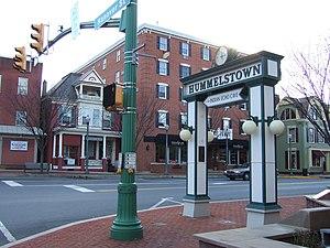 Hummelstown, Pennsylvania - Hummelstown square