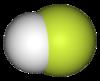 Hydrogen fluoride molecule