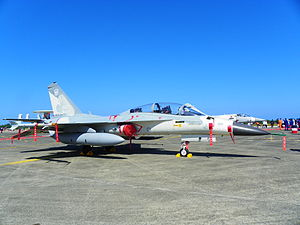 IDF F-CK-1B 1627 Display at Chih Hang Air Force Base 20130601a.jpg