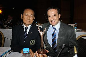 International Federation of Muaythai Amateur - IFMA receives the Spirit of Sport Award