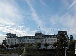 The ICRC Headquarters in Geneva.
