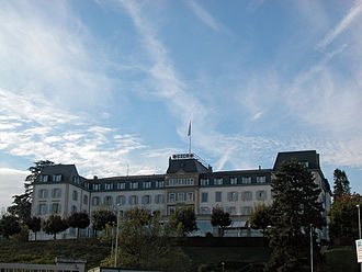 International organization - The headquarters of the International Committee of the Red Cross. Geneva (Switzerland) is the city that hosts the highest number of international organizations in the world.