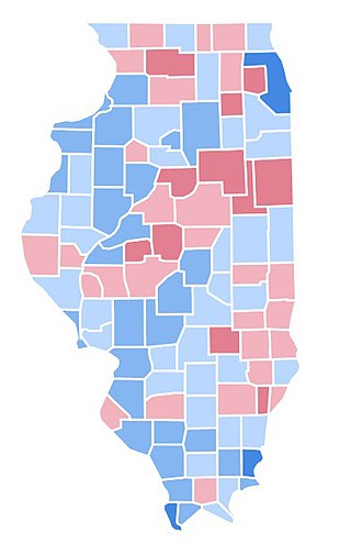 United States presidential election in Illinois, 1996 - Image: IL1996