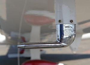 Airspeed - Aircraft have pitot tubes for measuring airspeed