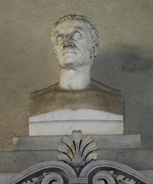 Luigi Canonica - Bust of Canonica at the Palazzo Brera, Milan