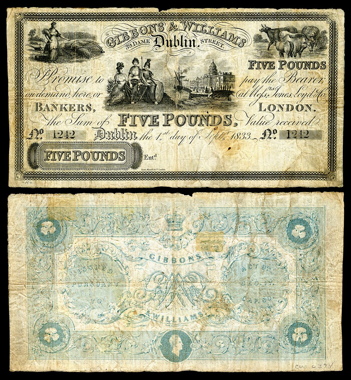 Banknotes Of Ireland Wikipedia