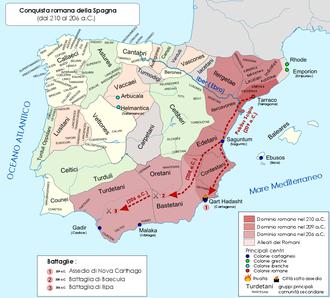 Battle of Baecula - Roman conquest of Carthaginian Spain