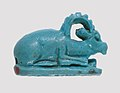 Ibex-Shaped Design Amulet Inscribed With A Crocodile and A Fish MET 26.7.50 rp.jpg