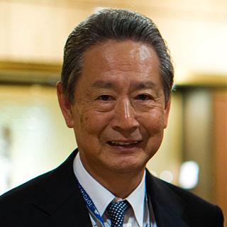 Japanese businessman