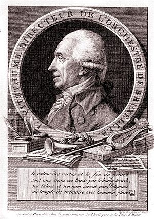Ignaz Vitzthumb - Ignace Vitzthumb, engraving by Cardon the elder (c. 1785). Brussels, Bibliothèque royale de Belgique