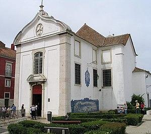 Igreja de Santa Luzia (Lisbon) - View of the main façade of the church.