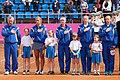 Ihor Dernovskyi, Lesia Tsurenko, Elina Svitolina, Lyudmyla Kichenok and Nadiya Kichenok (6959250290).jpg