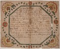 Illustrated family record (Fraktur) found in Revolutionary War Pension and Bounty-Land-Warrant Application File... - NARA - 300146.tif