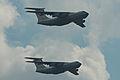 Ilyushin IL-76MD formation - Zhukovsky 2012 (8706040940).jpg