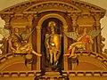 Imágen de San Miguel Arcángel. Cuerpo superior del retablo mayor de la iglesia de San Miguel Arcángel.JPG