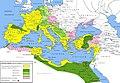 Impero romano sotto Ottaviano Augusto 30aC - 6dC.jpg
