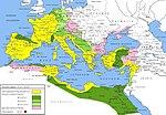 Провинције Римског царства за време његовог највећег опсега, након Трајанове смрти