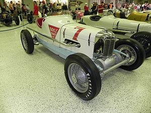 1934 Indianapolis 500 - Image: Indy 500winningcar 1934