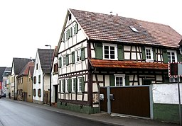 Bergzaberner Straße in Billigheim-Ingenheim