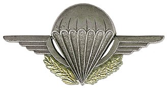 Parachutist Badge - Image: Initiation Parachutiste