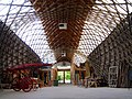Inside the Weald and Downland Gridshell - geograph.org.uk - 258909.jpg