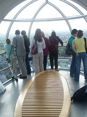 London Eye Facts For Kids. London is a city surrounded by landmarks that you may have