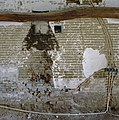 Interieur, bouwsporen van schouwpartij met leemstenen muurwerk, tijdens verbouwing - Dinther - 20336443 - RCE.jpg