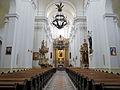 Interior of Saint Francis church in Warsaw - 01.jpg