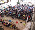 International Day, March 2010, American Academy Nicosia, Yr 1s and 2s receive the applause of a packed audience.jpg