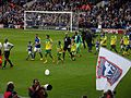 Ipswich Town vs Norwich City, Championship Play-Off Semi-Final 1st Leg, at Portman Road Stadium on 9th May 2015 04.jpg