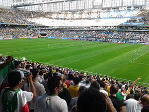 Arena da Baixada - Arena da Baixada in match between Iran and Nigeria, 16 June 2014, FIFA World Cup