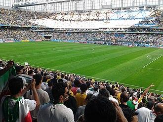 Arena da Baixada - Arena da Baixada in match between Iran and Nigeria, 16 June 2014, FIFA World Cup