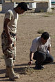 Iraqi Army gets CSI training during mock crime scene exercise DVIDS64489.jpg