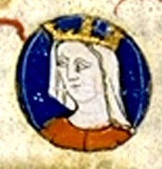 Isabella of France, Queen of Navarre - Image: Isabella of France (1242 1271)