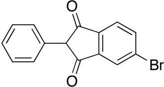 Isobromindione - Image: Isobromindione