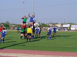 Rugby union in Israel - Lithuania playing Israel