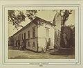 József nádor villája, mellette a ferences templom romjai. 1878 körül. - Budapest, Fortepan 82297.jpg