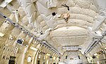 JASDF C-2(78-1205) cargo ceiling at Komaki Air Base March 3, 2018 03.jpg