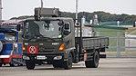 JASDF bomb cargo truck(Hino Ranger, 48-9237) left front view at Tsuiki Air Base November 26, 2017.jpg